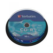 CD-R диск Verbatim 52xCake10шт
