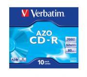 CD-диск Verbatim Crystal AZO (10 шт)