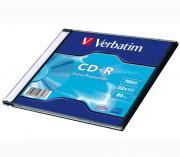 Диск VERBATIM CD-R 700 Мб DL 52х Extra Protection Slim
