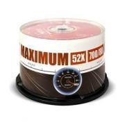 CD-диск CD-R Mirex 700 Mb, UL120052A8B (50 шт)