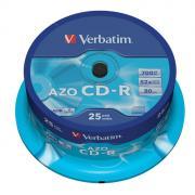 Диск CD-R Verbatim 700Mb 52x (25шт) (43352)