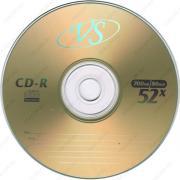 CD-R 700 MB VS 52x без упаковки VSCDRB5003-1