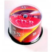 Диск CD-R VS 0,7 GB 52x (50 штук в упаковке)
