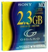 SONY 3.25MO GIGAMO 2,3Gb магнитооптический диск [EDM-G23C] EDMG23C
