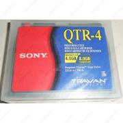 Стримерная кассета Sony QTR-4 Travan Tape Cartridge 4gb/8gb