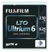 Одиночный ленточный накопитель FUJIFILM Ultrium Lto6 RW 6, 25TB (2, 5Tb native) bar code labeled Cartridge (for libraries & autoloaders) (analog C7976A + Label)