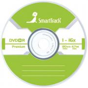 Диск, DVD+R 4.7Gb Smart Track 16x Slim
