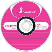 Диск, DVD-RW 4.7Gb Smart Track 4x Slim