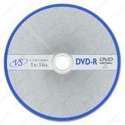 DVD-R 4,7 GB VS 16x без упаковки VSDVDRB5002-1