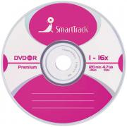 Диск, DVD-R 4.7Gb Smart Track 16x Slim