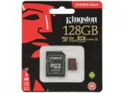 Карта памяти 128ГБ Kingston SDCR/128GB microSDXC UHS-I