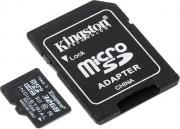 Карта памяти 32Gb - Kingston Micro Secure Digital HC UHS-I Industrial Temp Class 10 SDCIT/32GB с переходником под SD