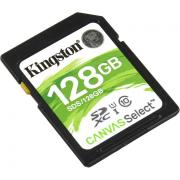 Карта памяти Kingston SDXC 128Gb Class10 SDS/128GB Canvas Select