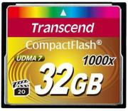 Карта памяти 32GB Transcend TS32GCF1000 Compact Flash Card 1000x