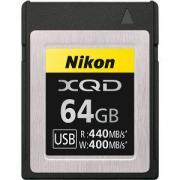Карта памяти Nikon MC-XQ64Gb XQD (440/400 MB/s)