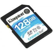 Карта памяти Kingston SDXC 128Gb Class10 SDG/128GB Canvas Go