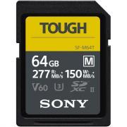 Защищенная карта памяти Sony 64GB SF-M Tough Series UHS-II SDXC SF-M64T/T1