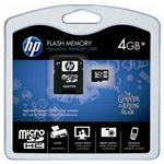 647444-B21 HP Память HP 4GB Micro SDHC Flash Media Kit (647444-B21)