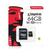 Карта памяти MicroSDXC 64Gb Kingston Ultra 80Mb/s, class 10