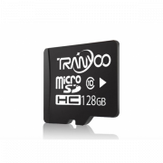 Карта памяти TranYoo C10 Micro SD класс 10, 128 Гб (Черная)