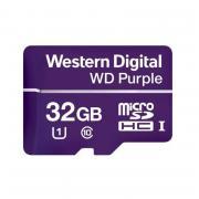Специализированная карта памяти для видеонаблюдения Micro SD WD Purple 32GB