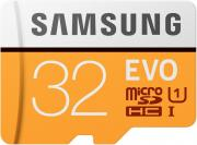 Карта памяти MicroSDHC Samsung EVO V2 32Gb Class10 MB-MP32GA/RU