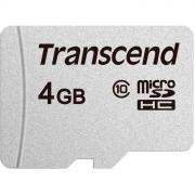 Micro SecureDigital 4Gb Transcend class10 UHS-1 (TS4GUSD300S)