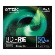 Диск TDK Blu-ray BD-R (4x) 50Gb FJC (1шт) (t78009)