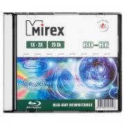 Перезаписываемые диски BD-RE Mirex 2x slim box, упаковка 20 шт.