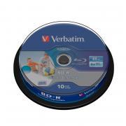 Диск Blu-ray BD-R Printable Verbatim SL 43804