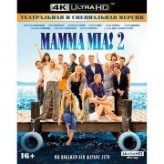 4K Blu-ray диск . Mamma Mia! 2 + карточки