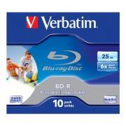 Диск BD-R Verbatim 25GB 2x Jewel case (1шт)