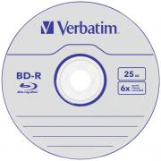 Диск Blu-Ray Verbatim BD-R 25Gb 6x Case 1шт