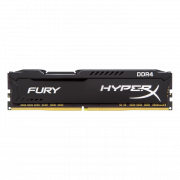 Модуль памяти DDR4 4Gb PC-21300 2666MHz Kingston HyperX Fury Black ( HX426C15FB/4 )