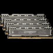 Модуль памяти DDR4 16Gb (4х4Gb) PC-19200 2400MHz Crucial ( BLS4K4G4D240FSB )