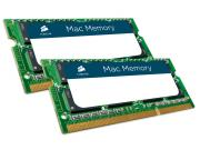 Модуль памяти Corsair Mac DDR3 SO-DIMM 1333MHz PC3-10600 CL9 - 8Gb KIT (2x4Gb) CMSA8GX3M2A1333C9