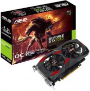 Видеокарта PCI-E ASUS GeForce GTX 1050 2GB GDDR5 128bit 14nm 1404/7000MHz DVI-D(HDCP)/HDMI/DisplayPort RTL