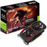 Видеокарта PCI-E ASUS GeForce GTX 1050 Ti 4GB GDDR5 128bit 14nm 1328/7008MHz DVI-D(HDCP)/HDMI/DisplayPort RTL