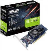 Видеокарта PCI-E ASUS GeForce GT 1030 2GB Low Profile GDDR5 64bit 14nm 1228/6008MHz DisplayPort/HDMI RTL
