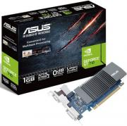 Видеокарта PCI-E ASUS GeForce GT 710 GT710-SL-1GD5-BRK 1GB Silent Low Profile GDDR5 64bit 28nm 954/5012MHz DVI-D(HDCP)/HDMI/VGA RTL