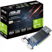 Видеокарта PCI-E ASUS GeForce GT 710 GT710-SL-1GD5 1GB Silent Low Profile GDDR5 32bit 28nm 954/5012MHz DVI-D(HDCP)/HDMI/VGA RTL