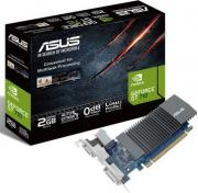 Видеокарта PCI-E ASUS GeForce GT 710 GT710-SL-2GD5-BRK 2GB Silent Low Profile GDDR5 64bit 28nm 954/5012MHz DVI-D(HDCP)/HDMI/VGA RTL