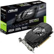 Видеокарта PCI-E ASUS GeForce GTX 1050 PH-GTX1050-2G 2GB GDDR5 128bit 14nm 1354/7008MHz DVI-D(HDCP)/HDMI/DisplayPort RTL