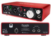 Аудиоинтерфейс Focusrite Scarlett 2i2 2nd Gen