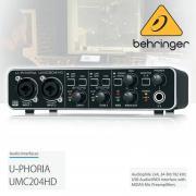 BEHRINGER UMC204HD U-PHORIA Внешняя звуковая карта USB