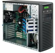 "Case Supermicro CSE-732D3-903B - Mid-Tower, 900W, 4x3.5"" fix HDD SAS/SATA, 2xUSB + 2x Audio Front"