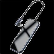 Хаб Baseus Mirror CZ0G (3xUSB3.0+HD4K+SD/TF+PD)