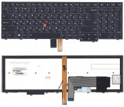 MirBatt Клавиатура для ноутбука Lenovo ThinkPad Edge E531 E540 черная с подсветкой код 012001