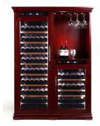 Отдельностоящий винный шкаф более 201 бутылки Cold vine C154-WM2-BAR (Classic)