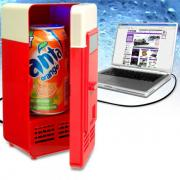USB холодильник (красный)